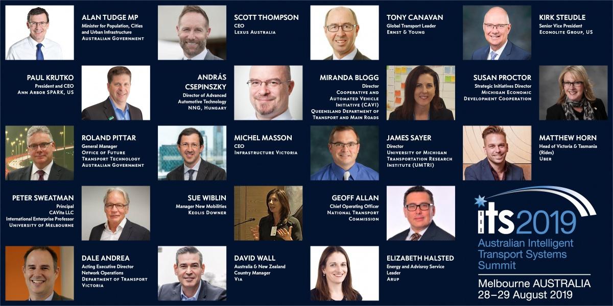 Keynote Speakers at the 7th Australian ITS Summit 2019